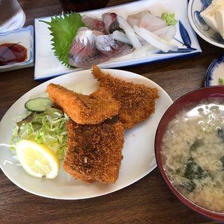 鯵フライ(さすけ食堂 )