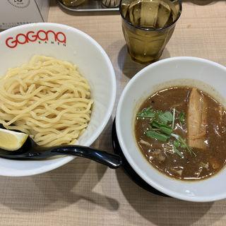 炙りホルモンつけ麺(ガガナ ラーメン (Gagana RAMEN))