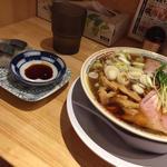 鯖醤油ラーメン 鯖寿司