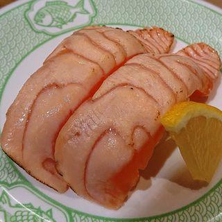 炙りサーモン(博多 魚がし マイング博多通り店)