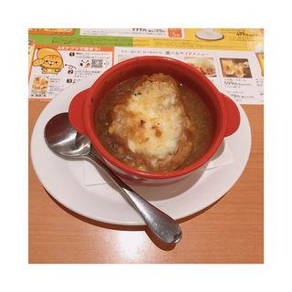 オニオングラタンスープ(デニーズ 池袋東口店 )