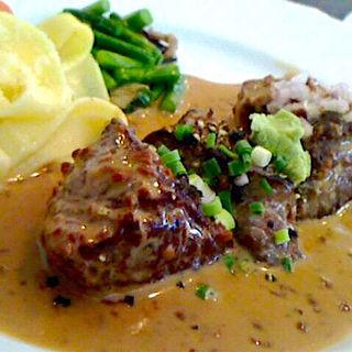 牛サイコロステーキランチ(和牛料理はんだ )