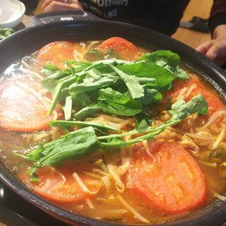 トマト鍋コース