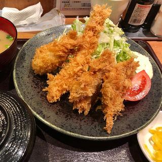 とんかつ MIXフライ 定食(目黒キッチン )