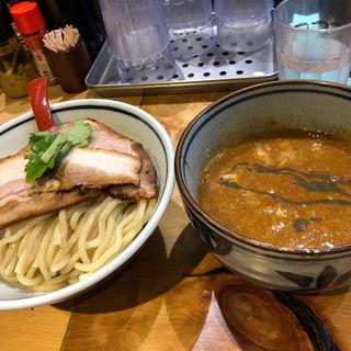辛つけ麺(煮干麺 新橋 月と鼈)