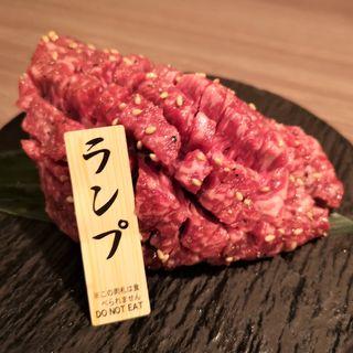 厚切り赤身ステーキ (北浜にくや )