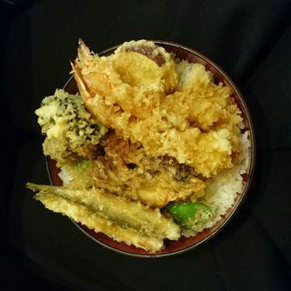大海老天丼(銀座 天ぷら 阿部 )