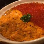 うにいくら丼(魚輝 (ウオテル))