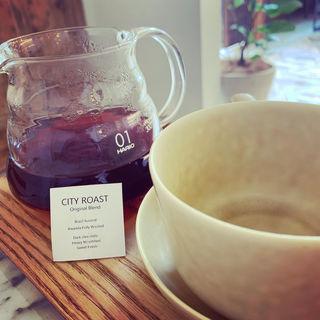 ハンドドリップコーヒー(ONIBUS COFFEE 八雲)