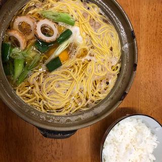 なべ焼ラーメン(橋本食堂 (はしもとしょくどう))