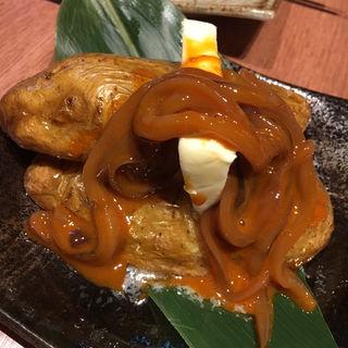 塩辛ジャガバター(ダンダダン酒場 今泉店)