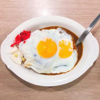 辛来飯 (蒲田サイズ、キヌア雑穀米、玉子増し)(ニューキャッスル)