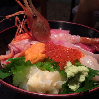 特上海鮮丼(築地青空三代目 本店 (ツキジアオゾラサンダイメ))