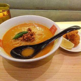 カレー担々麺(四条富小路 麺屋虎杖 有楽町)