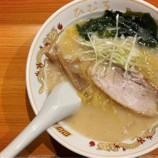 函館塩らぁ麺(北海道らぁ麺ひむろ)