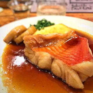 金目鯛の煮付け(トクトク 港店)