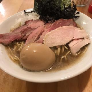 荒炊き煮干しラーメン(平八)