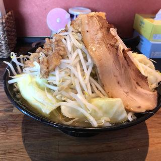 G郎麺(野菜マシ+ニンニク増し)(五代目らーめん処 まるは商店 )
