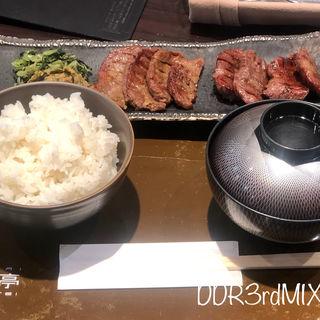 牛たん定食(青葉亭 仙台三越デリカ店 (あおばてい))