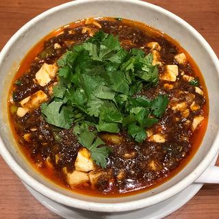 パクチー麻婆麺(SHIBIRE NOODLES 蝋燭屋 表参道ヒルズ店)