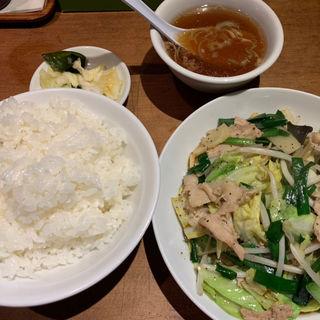 肉野菜炒め(かおたんらーめん 赤坂店 )