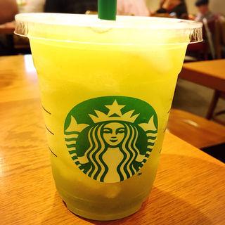 ティバーナフローズンティー香る煎茶×グリーンアップル(スターバックス・コーヒー 西武高田馬場駅店 )