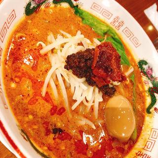 赤坦坦麺(紅龍擔擔麺 (紅龍担々麺 ホンロンタンタンメン))