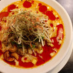 冷し汁あり担担麺(175°DENO〜担担麺〜 本店)