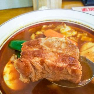 豚角煮スープカレー(スープカレー店 34)
