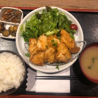 とり天定食(鳥一 外苑前店 (とりいち))