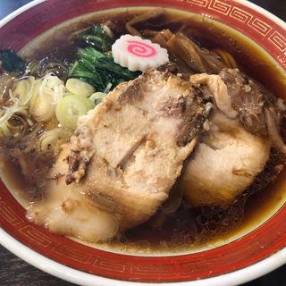 醤油らーめん(拉麺アイオイ)