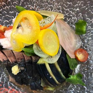 涼三 魚ひやし(烈志笑魚油 麺香房 三く)