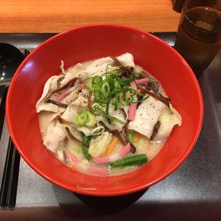ちゃんぽんうどん 並(UDONつるこし 新宿京王モール店 (ウドンツルコシ))