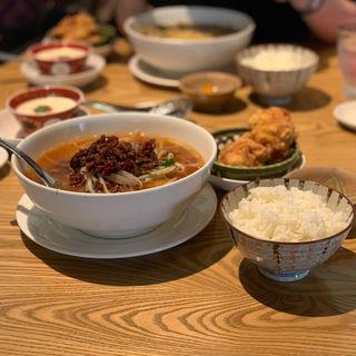 中華ランチセット(麺セット)(510 FIVETEN CHINESE RESTAURANT)