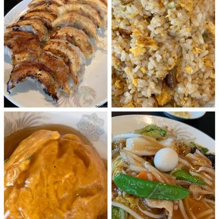 天津飯(中国料理 峯蘭 (ホウラン))
