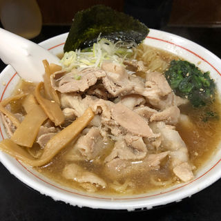 肉そば(肉大)(麺処 壱萬屋 (いちばんや))
