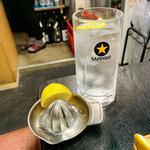 生レモン付レモンサワー
