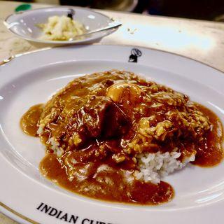 インディアンカレー タマゴ入り(インデアンカレー 南店 (Indian Curry))
