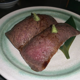 牛ロースあぶり(肉蔵でーぶ)
