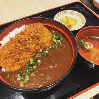 カツカレー丼(丼 上野公園ルエノ店)