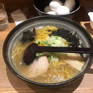 塩ラーメン(白樺山荘 京都拉麺小路店)