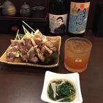若宮舞松原ハシゴ酒セット(炭火 串焼きボンちゃん)