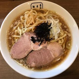 アゴダシラーメン(麺屋翔)