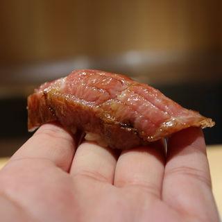 大トロ漬け(鮨猪股)