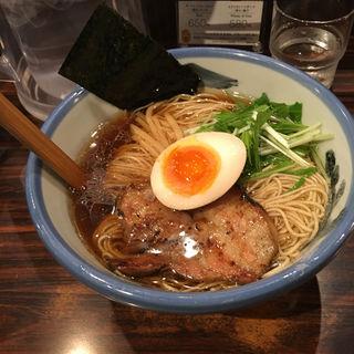 ゆず醤油麺(AFURI 中目黒 (阿夫利 あふり))