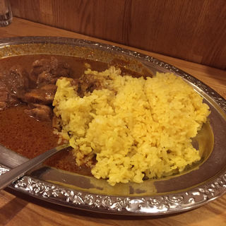 チキンカレー(おおもり)(カルータラ)