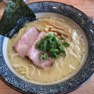 RAM限定 「豚げんこつ×鶏白湯×魚介水出し」トリプルスープの濃厚中華そば(Ramen611)