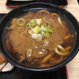 カレーうどん(名代 箱根そば 祖師ヶ谷大蔵店)