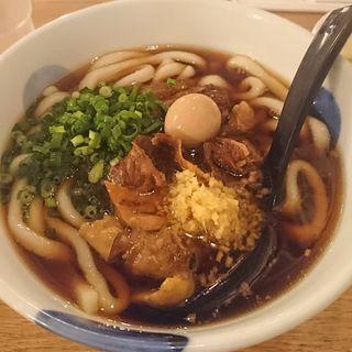 北九州式 黒うどん(博多うどん酒場イチカバチカ恵比寿別邸)