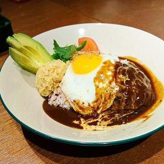 ロコモコボウル(WIRED CAFE Hakata9店)